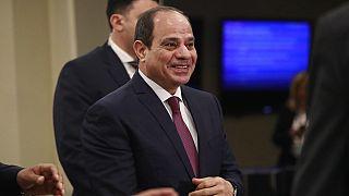 """Manifestations en Egypte : Sissi se dit """"pas inquiet"""""""