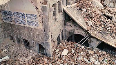 Local communities help UNESCO restore war-torn MENA heritage sites