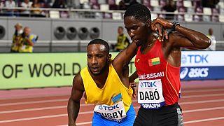Mondiaux d'athlétisme : le salutaire geste fair-play d'un athlète bissau-guinéen