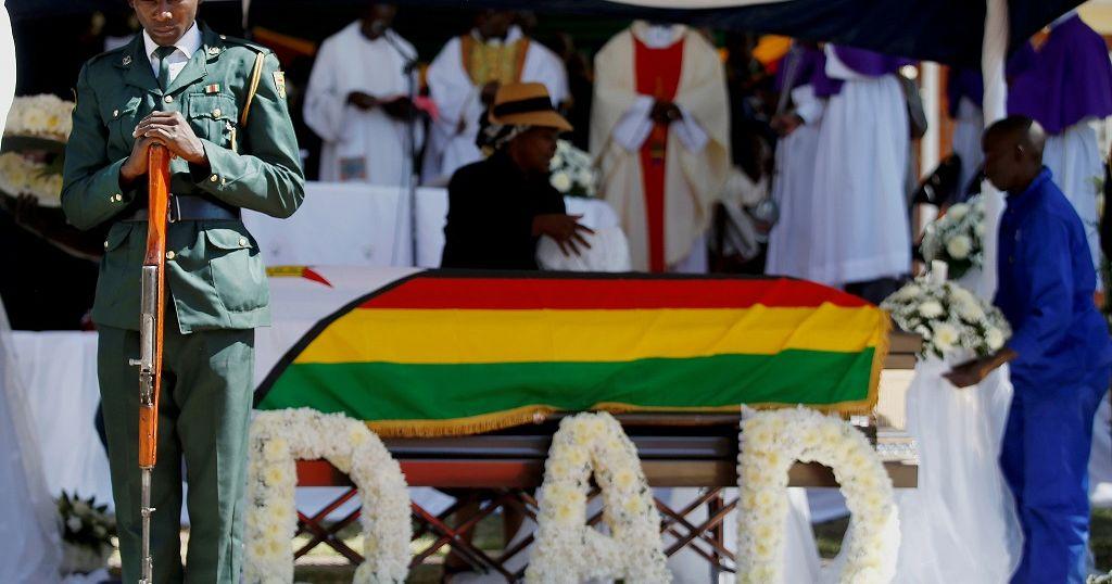 Zimbabwe's ex-president Robert Mugabe buried in his village (AFP)