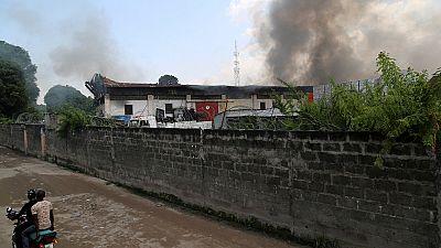 RDC : un dépôt de carburant détruit par un incendie à Kinshasa