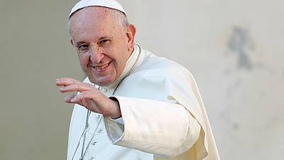 Pope Francis prays for peace in Cameroon