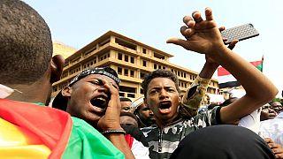 Manifestations pour la libération d'un étudiant soudanais détenu en Egypte