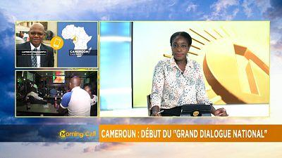 Cameroun : Ouverture du Grand Débat National [The Morning Call]