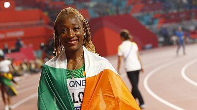 Mondiaux d'athlétisme : en bronze sur 100m, l'Ivoirienne Ta Lou forfait sur 200m