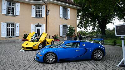 Equatorial Guinea VP's supercars sold for $27m at Swiss auction