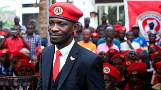 Bobi Wine describes Uganda's ban of red berets as a sham