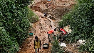 RDC : au moins 14 morts dans l'éboulement d'une mine artisanale dans l'Est