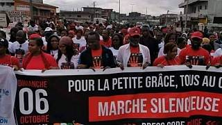 Côte d'Ivoire : marche après le viol et la mort d'une fillette