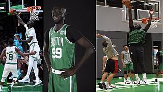 Senegal's Tacko Fall set to be NBA's tallest player