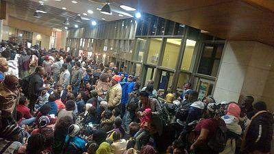 Violences en Afrique du Sud : des réfugiés campent devant les bureaux de l'ONU