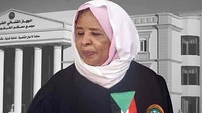 Soudan : une femme à la tête du système judiciaire (médias)