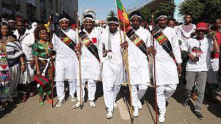 Ethiopie : les Oromos célèbrent le festival Ireecha à Addis-Abeba [No Comment]