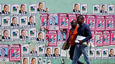 Meet Mozambique's four Presidential candidates for the Tuesday election
