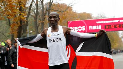 'The best moment in my life'- Eliud Kipchoge, Marathon record holder