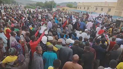 Anti-France, MINUSMA rally held in Bamako, Mali