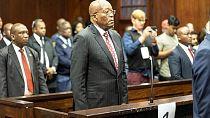 Afrique du Sud : l'ex-président Jacob Zuma sur le banc des accusés pour corruption