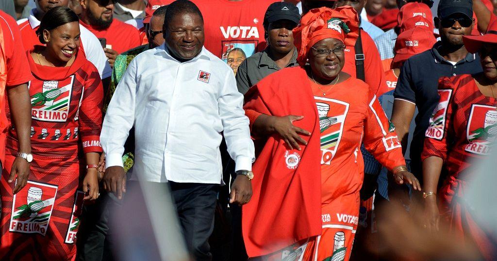 Élections générales au Mozambique : vote du président Filipe Nyusi