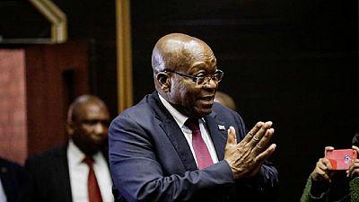 Afrique du Sud : report du procès de l'ex-président Jacob Zuma