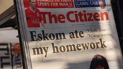 Power cuts bite again in South Africa