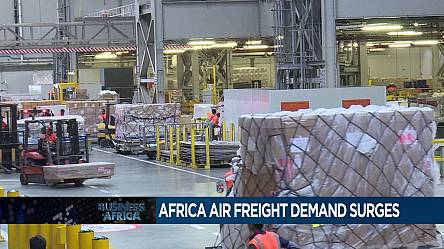 Africa air freight demand surges [Business Africa]