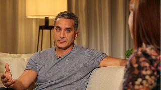 """Selon l'humoriste Bassem Youssef, """"personne ne devrait être au-dessus de la satire"""""""