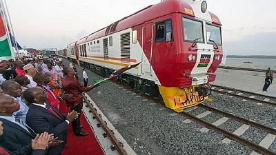 Video: Kenya opens second phase of modern railway
