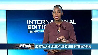 Catalan calls for international support [International Edition]
