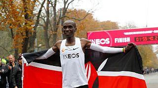 Le meilleur marathonien du monde Kipchoge porte plainte contre une radio kényane