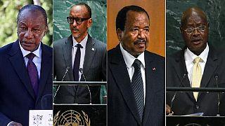 African presidents resist term limits: Guinea, Burundi, Cameroon, Rwanda, Uganda