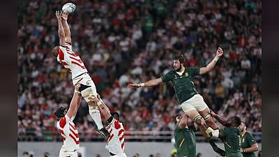 Rugby World Cup: South Africa march into Semi final after beating Japan