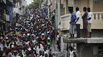Haïti : la colère des manifestants anti-Jovenel persiste à Port-au-Prince