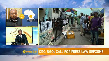 Renewed calls for press freedom in the DRC [Morning Call]