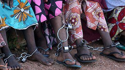 Children rescued from 'slave' school in northern Nigeria