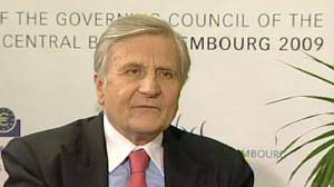 Trichet talks to euronews