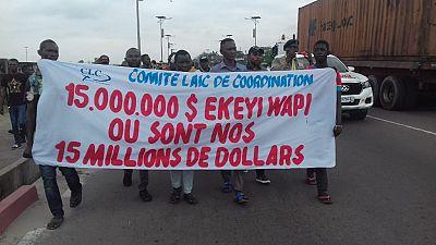 RDC : un fait rare, une marche sans incident
