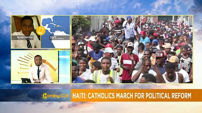 Protesters in Haiti call for resignation of President [Morning Call]