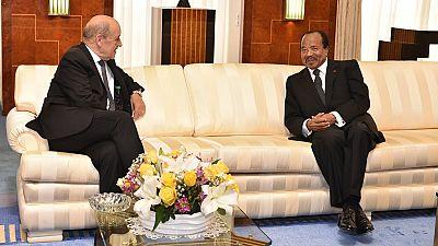 La France veut renforcer sa coopération avec le Cameroun de Paul Biya