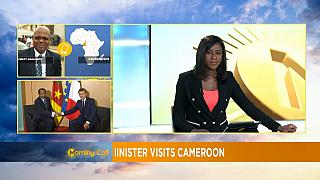 Jean Yves le Drian au Cameroun [Morning Call]