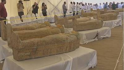 L'Égypte dévoile 30 cercueils de la 22e dynastie
