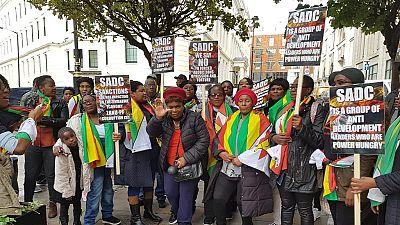 Zimbabwe govt's protest against U.S. sanctions marred by low turnout