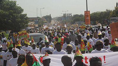Affrontements entre policiers et activistes lors du rassemblement en Guinée Bissau