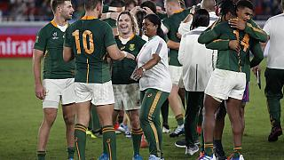 S. Africa: Springbok fans hope team wins Rugby WC final