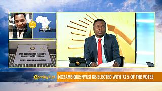 Mozambique's president Filipe Nyusi re-elected into office [Morning call]