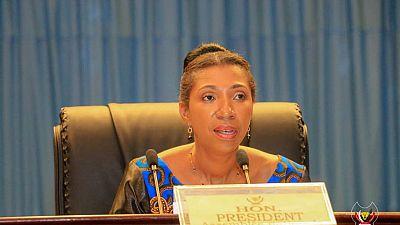 RDC : la présidente de l'Assemblée nationale menacée de déchéance par son parti