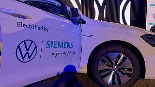 Rwanda pilots VW's electric cars as eGolf model hits Kigali streets