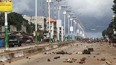 Guinée : la contestation privée des corps des manifestants tués