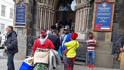 Church rescues stranded refugees manhandled by South Africa police