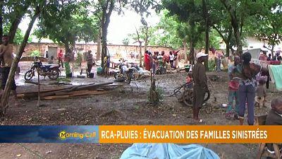 Centrafrique : la pluie a fait de milliers de déplacés internes [Morning Call]