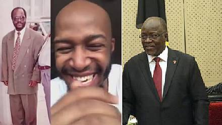 No jokes: Tanzania comedian detained over president's over-sized suit